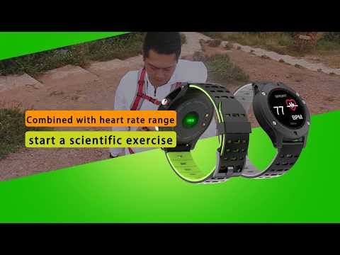 No.1 F5 Smart watch GPS Heart Rate Monitor Altimeter Barometer Thermometer Bluetooth 4.2 Smartwatch