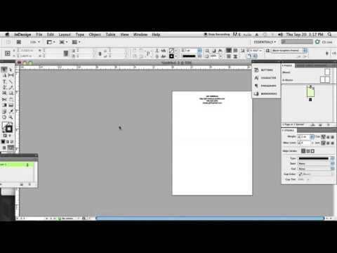 Making Letterhead in InDesign  InDesign & Graphics3415