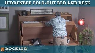 Hiddenbed Fold-out Bed And Desk Mechanism