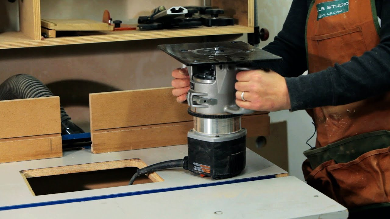 Use a Router Table