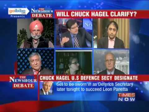 The Newshour Debate: Is US Defense Secretary designated anti-India? (The Full Debate)