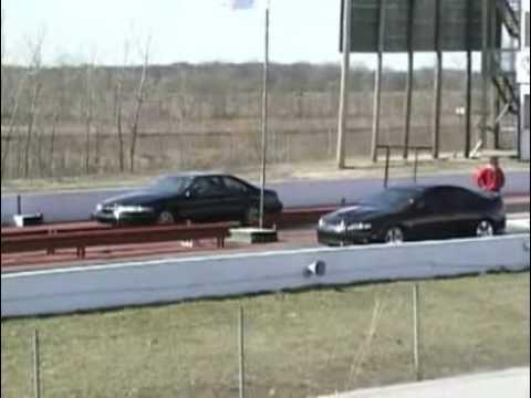 98 Lincoln Mark VIII LSC vs 05 Pontiac GTO- LS2,6-