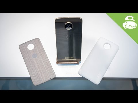 Moto Z and Moto Z Force Hands On!