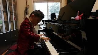 George Wang 6 years plays Beyer NO 66