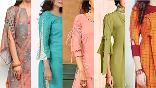 Most Trending Designer Kurtis Collection 2020 For Girls With Most Useful Neck & Sleeves Design Ideas