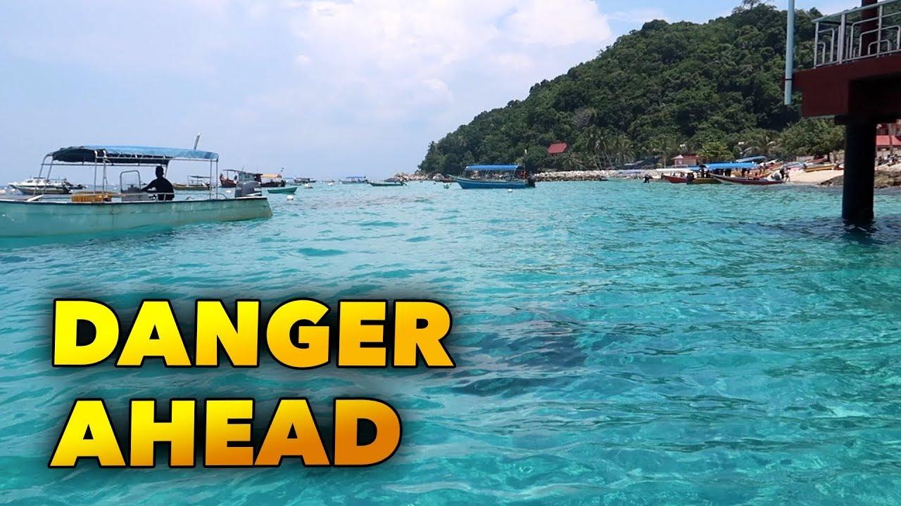 Pulau Perhentian Dangerous Island Youtube