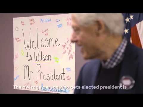 President Bill Clinton on why Hillary is the greatest changemaker he