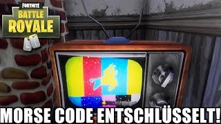 ''THEY DON'T WANT US TO K...!?'' - GEHEIMNER MORSE CODE DEKEY!| Fortnite English | Queezy