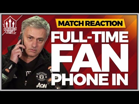 MOURINHO Fights Back! Manchester United 2-1 Leicester City Fan Reaction