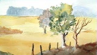 Paint Along With Larry Hamilton - June 3-5-2014-watercolor Workshop Lessons -1-3