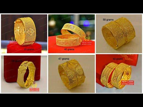 Bangles 40 gram designs gold 22Kt Gold