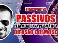 Transporte Passivo Pela Membrana Plasmática Difusão E Osmose Citologia VídeoAula 017 mp3