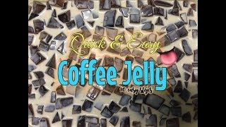 How to: make your own COFFEE JELLY | Home Made