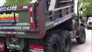M35A2 Deuce And A Half Miltary Dump Truck 6x6