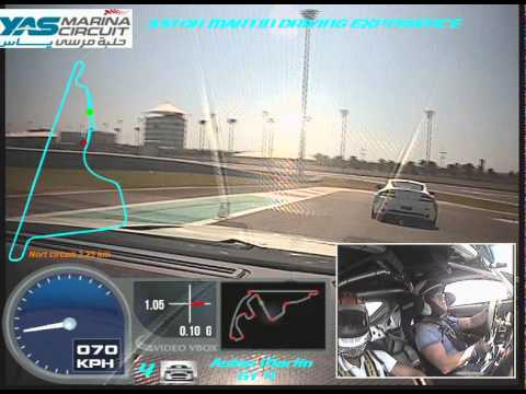 Aston Martin Driver training - F1 Circuit Abu Dhabi