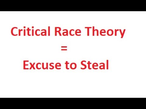 Critical Race Theory Isn't a Thing - YouTube