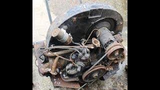 barn find vw engine  will it run?