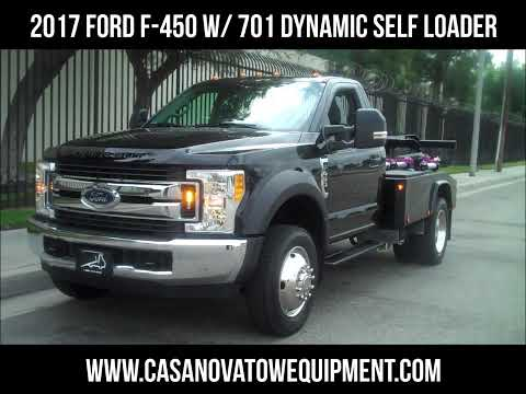 2017 Ford F 450 with 701 Dynamic Self Loader