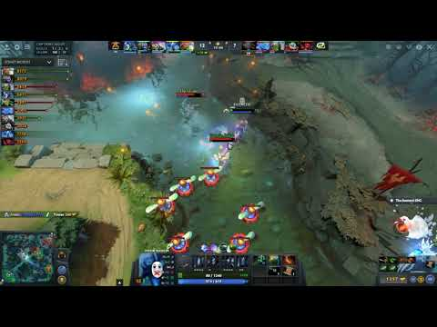 Fnatic VS Optic  Dota 2 Series Game 3 Summit 8 Highlights
