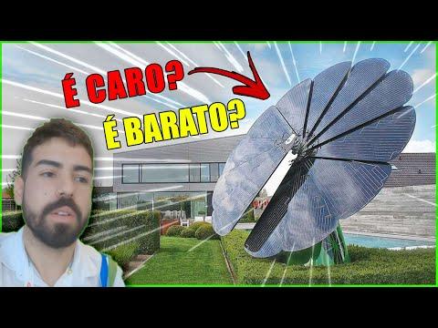 Qual preço de um girassol solar? Intersolar 2019