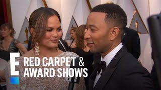 """John Legend Teases 2017 Oscars """"La La Land"""" Performance   E! Live from the Red Carpet"""
