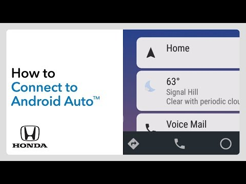 2019 Honda Odyssey: How to Connect and use Android Auto - YouTube