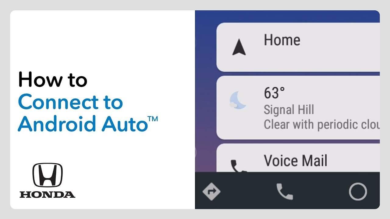 2019 Honda Odyssey: How to Connect and use Android Auto
