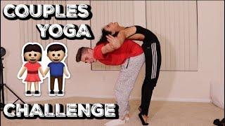 COUPLES YOGA CHALLENGE w/ Daniella Perkins |  Bruhitszach
