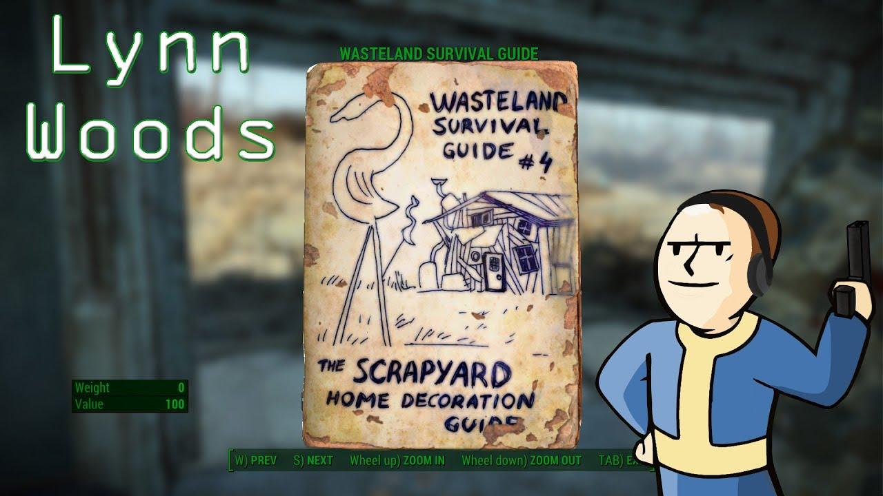 Delightful Scrap Yard Home Decorating Guide Fallout 4 Wallpaper