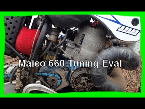Dirtbike Garage: S1 E6 The Maico 660 Needs Tuning