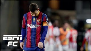 Lionel Messi SENT OFF! Barcelona-Athletic 'the beginning of the end for Messi at Barca' | ESPN FC