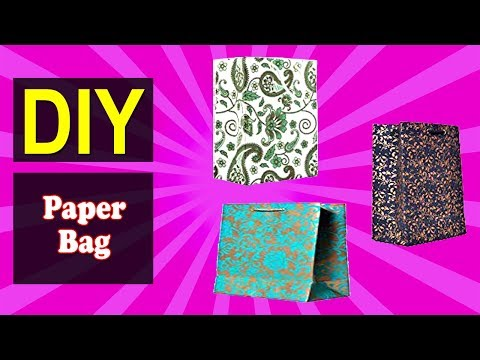 How to Make Paper Bag 02 | Easy DIY Paper Bag | Why Crafts