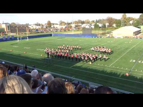 Fallston HS Marching Band at 2016 HCPS Marching Band Showcase
