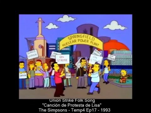 Lisa's Song - Union Strike Folk Song - 1993 - subtitulada
