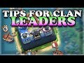 What Every Clan Leader and Co-Leader Should Know! | Clash Royale 🍊 の動画、YouT…