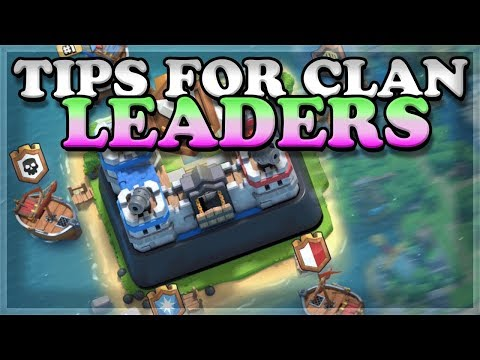 What Every Clan Leader And Co-Leader Should Know! | Clash Royale 🍊