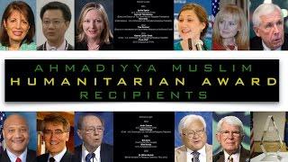 Ahmadiyya Muslim Humanitarian Award 2017