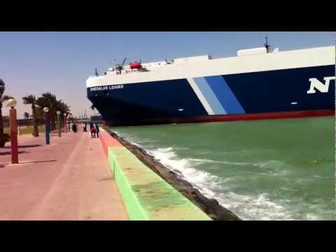 Giant Ship Almost Hit Shuwaikh Beach In Kuwait