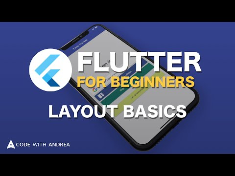 Flutter Tutorial for Beginners: Layout Basics