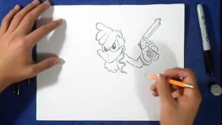 как рисовать Панчо оружие(рисунок Панчо оружие Музыка (Audiomicro.com) ElectroDance V 8., 2015-02-15T20:06:20.000Z)