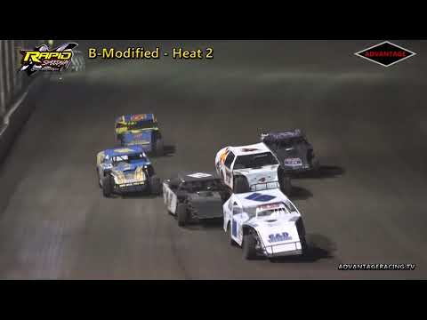 B-Modified Heats - Rapid Speedway - 9/15/18