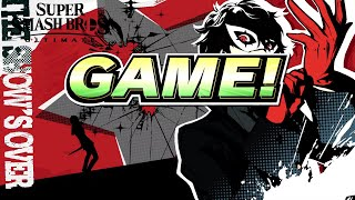 Super Smash Bros Ultimate All Joker Victory Screen, Intro & No Contest Screen!