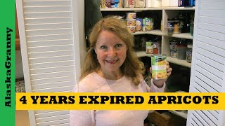 Eating Expired Food Canned Apricots 4 Years Expired How Long Does Canned Food Last