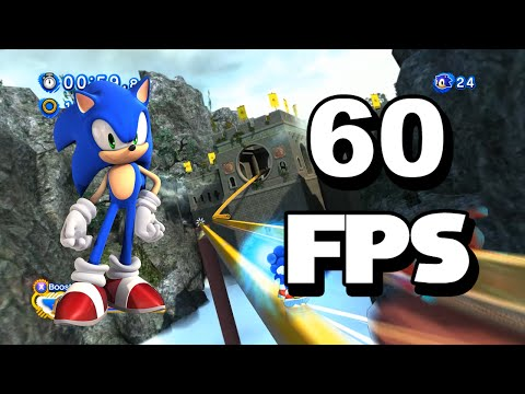 Sonic Generations PC - Unleashed Project Stages 60 FPS