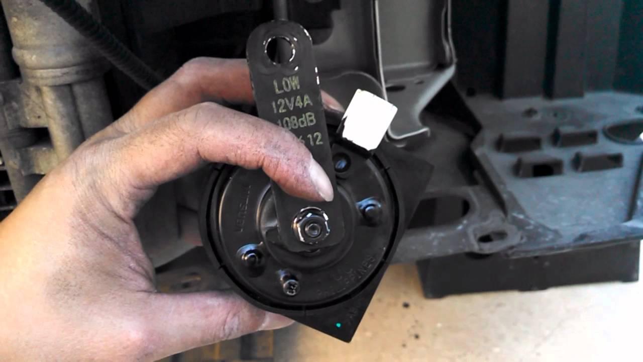 DIY: Easy Horn Upgrade! Honda Civic Meep (90db )to Boop (108db ...