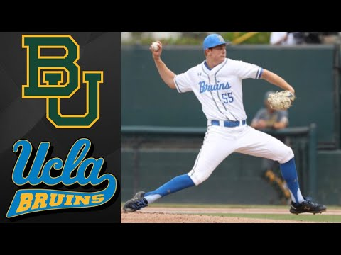 Baylor vs #1 UCLA NCAA Baseball Regional | College Baseball Highlights