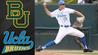 Baylor vs #1 UCLA NCAA Baseball Regional | College Baseball Highlights