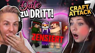 Mein ERSTES MINECRAFT DATE (Über Cringe sein Vater!) - PETRIT wird ausrasten! CRAFTATTACK 7!