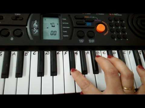 Dil To Paagal Hai | Title Song |  Keyboard Tutorial|Harmonium|Piano|Very easy for Beginners