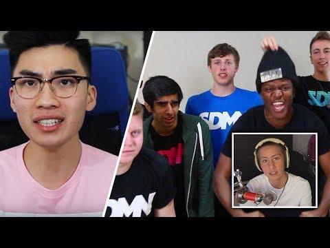 Det värsta av YouTube: DISS TRACKS (Ricegum, KSI, Sidemen)
